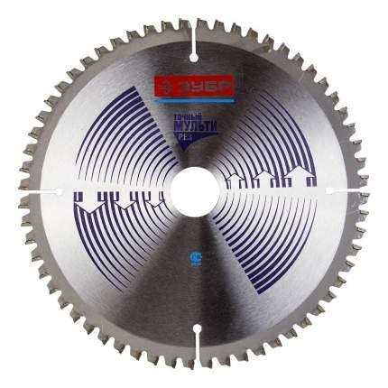 Диск по алюминию для дисковых пил Зубр 36907-180-30-60
