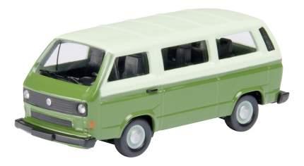 Автомобиль Schuco VW T3 bus зеленый 1:87
