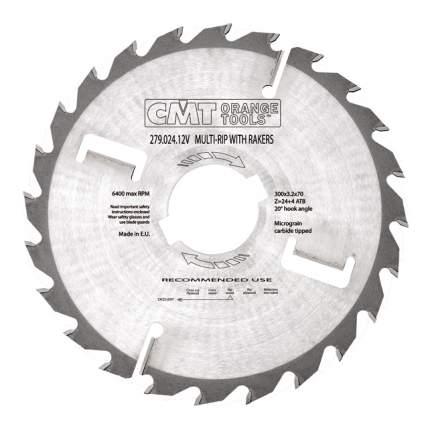 Диск по дереву для дисковых пил CMT 279.024.12V