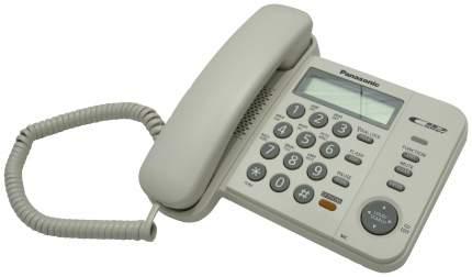 Проводной телефон Panasonic KX-TS2358RUW белый