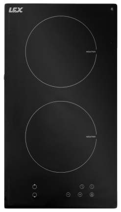 Встраиваемая варочная панель индукционная LEX EVI 320 BL Black