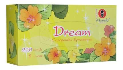 Салфетки бумажные Maneki dream