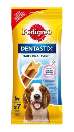 Лакомство для собак Pedigree Denta Stix, палочки, мясо, 180г