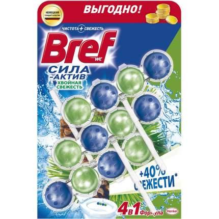 Чистящее средство для унитаза Bref сила-актив хвойная свежесть 3*50 г