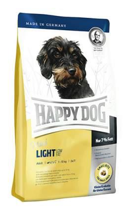 Сухой корм для собак Happy Dog Supreme Mini Light, мелкие породы, лосось, ягненок,яйца,4кг