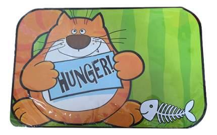 Коврик под миску для животных MAJOR Tommy is hungry полипропилен 28х43см