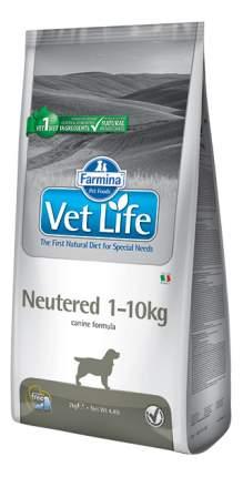 Сухой корм для собак Farmina Vet Life Neutered, для стерилизованных, курица, 10кг