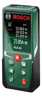 Лазерный дальномер Bosch PLR 25 603672521