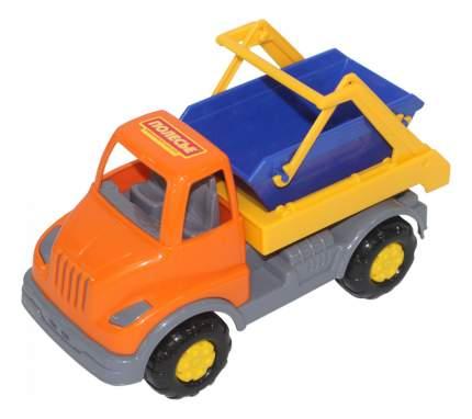Машина мусоровоза Полесье Леон