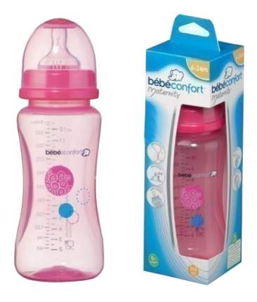 Детская бутылочка Bebe Confort 360 мл розовый