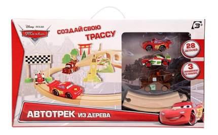 Автотрек Disney Cars, 28 деталей