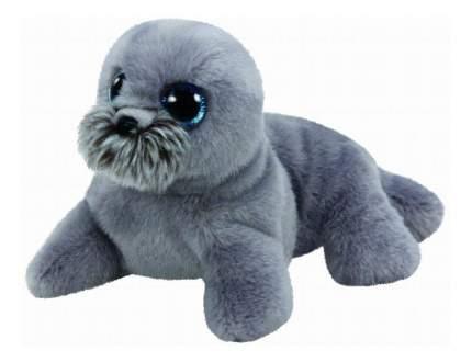 Мягкая игрушка TY Beanie Babies Морской лев (серый) Wiggy 20 см