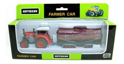 Трактор с прицепом-лесовозом HOFFMANN 47531