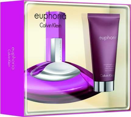 Подарочный набор CALVIN KLEIN Euphoria: Парфюмерная вода, 30 мл + крем для душа, 100 мл