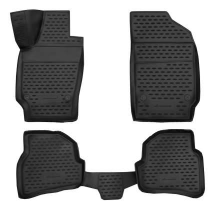 Комплект ковриков в салон автомобиля Autofamily для Volkswagen (NLC.3D.51.30.210k)