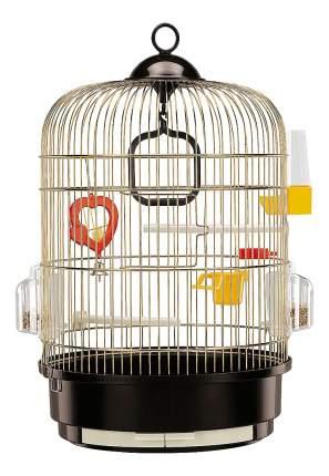 Клетка для птиц Ferplast Regina Antique, под антиквариат, золотая, 32,5х32,5x49 см