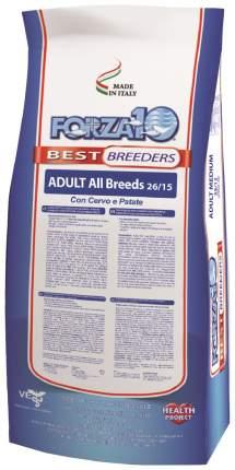Сухой корм для собак Forza10 Best Breeders Adult, оленина, картофель, 20кг