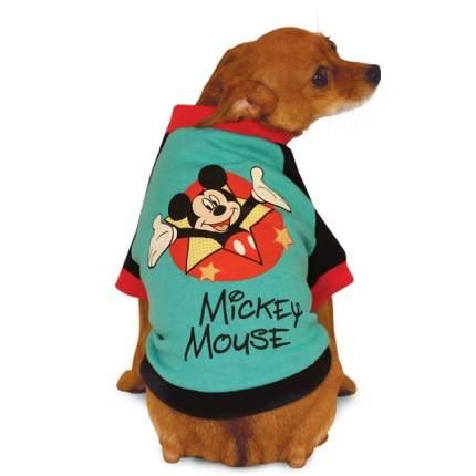 Толстовка для собак Triol размер M мужской, красный, зеленый, черный, длина спины 28 см