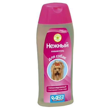 Шампунь для собак АВЗ Нежный гипоаллергенный, хитозан и алоэ вера, 270 мл