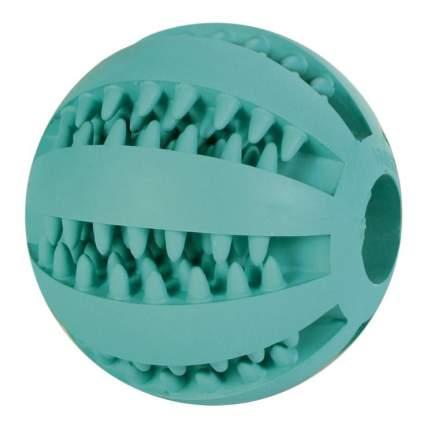 Жевательная игрушка для собак TRIXIE Мяч баскетбольный Denta Fun, зеленый, 5 см