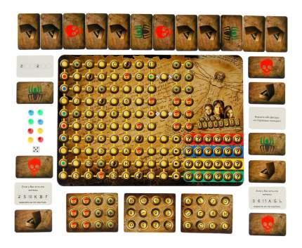 Семейная настольная игра Play Land Шифр Леонардо