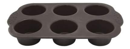 Форма для выпечки ATTRIBUTE Сhocolate 6 ячеек