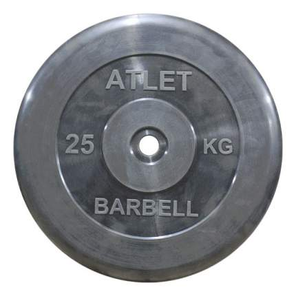 Диск для штанги MB Barbell Atlet 25 кг, 26 мм