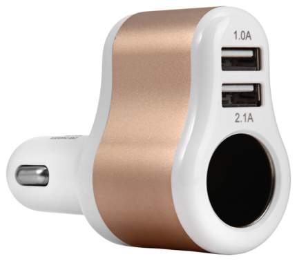 Разветвитель для прикуривателя Hoco UC206 3.1A 1 гн. 2 USB 563641