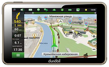 Видеорегистратор Dunobil GPS Clio 5.0