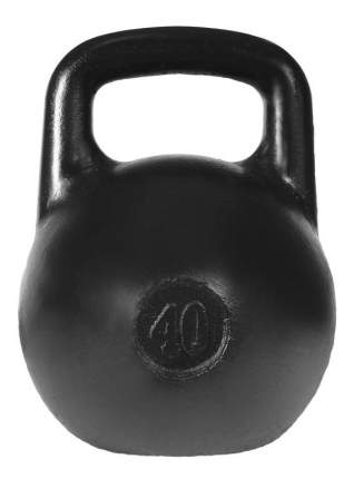 Гиря цельнолитая Уральская гиря titan-40 40 кг