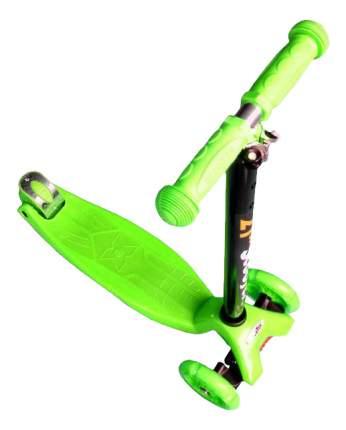 Самокат трехколесный Hawk F18403 зеленый