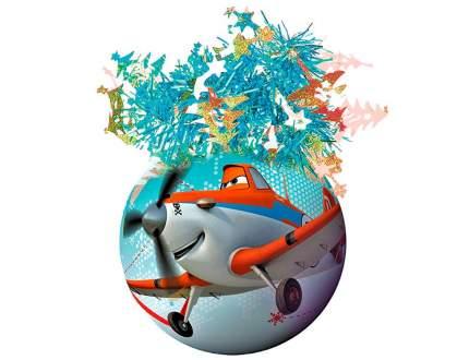 Пластиковый елочный шар Самолеты - Дасти и Ишани 95 мм Ш95042