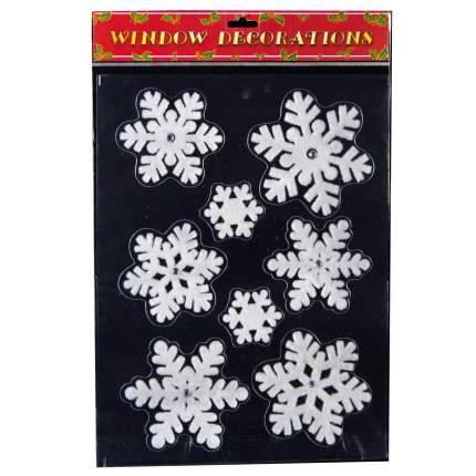Наклейки для окна Снежный Вальс 40*30 см RD-60265
