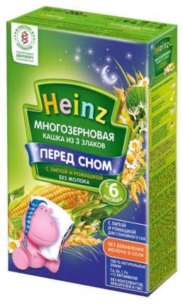 Каша безмолочная Heinz Многозерновая 3 злака с липой и ромашкой с 6 мес. 200 г