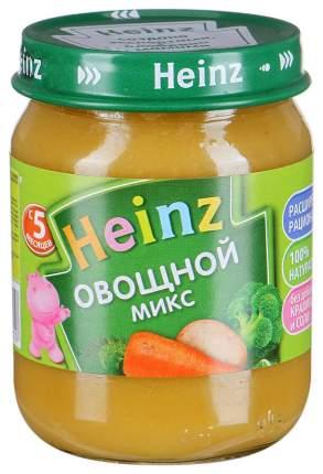Пюре овощное Heinz Овощной микс с 5 месяцев 120 г