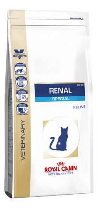 Сухой корм для кошек ROYAL CANIN Renal Special, при болезнях почек, свинина, 0,5кг