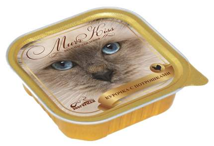 Консервы для кошек ЗООГУРМАН Murr Kiss, курица, 100г