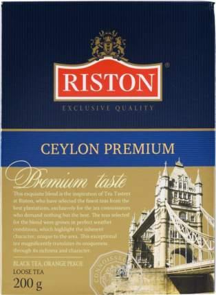 Чай черный Riston ceylon premium 200 г