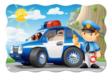 Castorland Пазл Кастор 20 maxi полицейский патруль С-02252, 20 элементов