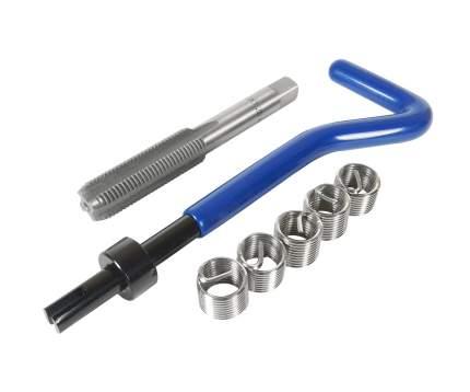 Набор для восстановления резьбы (вставки M10x1,25, длина 13,5см, 5шт) 7 предметов JTC /1