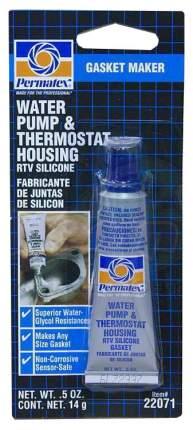 Герметик прокладок термостата и помпы Permatex 22071