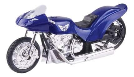 Коллекционная модель MotorMax Drag Bike, синяя
