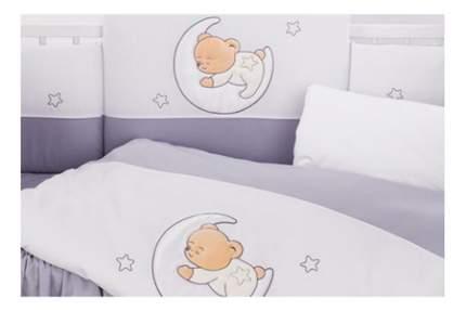 Комплект детского постельного белья Lepre Amore серый