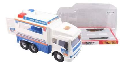 Машинка инерционная Полицейский фургон Gratwest В79724