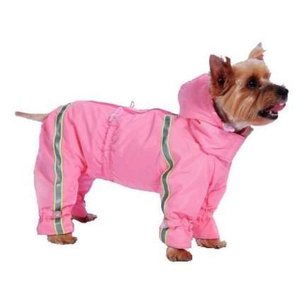 Комбинезон для собак ТУЗИК Пудель карликовый женский, в ассортименте, длина спины 36 см