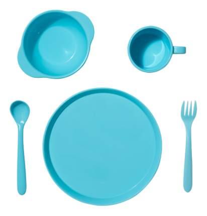 Набор посуды для детей DOSH | HOME Amila Kids голубой