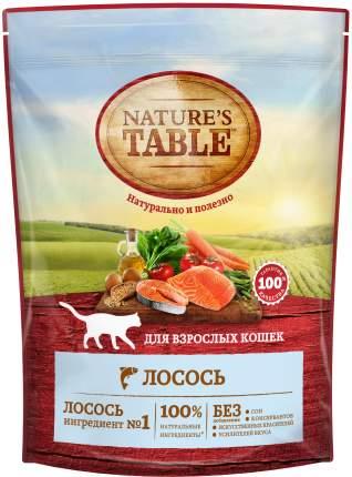 Сухой корм для кошек Nature's Table, лосось, 0,65кг