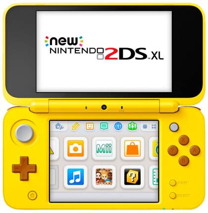 Портативная игровая консоль Nintendo 2DS XLPikachu Edition