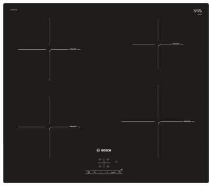 Встраиваемая варочная панель индукционная Bosch PUG 611 BB 1E Black