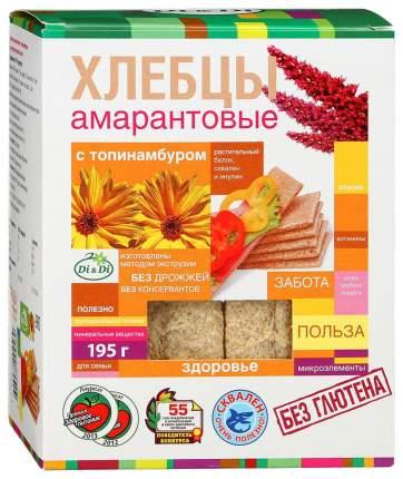 Хлебцы DiDi амарантовые с топинамбуром 195 г
